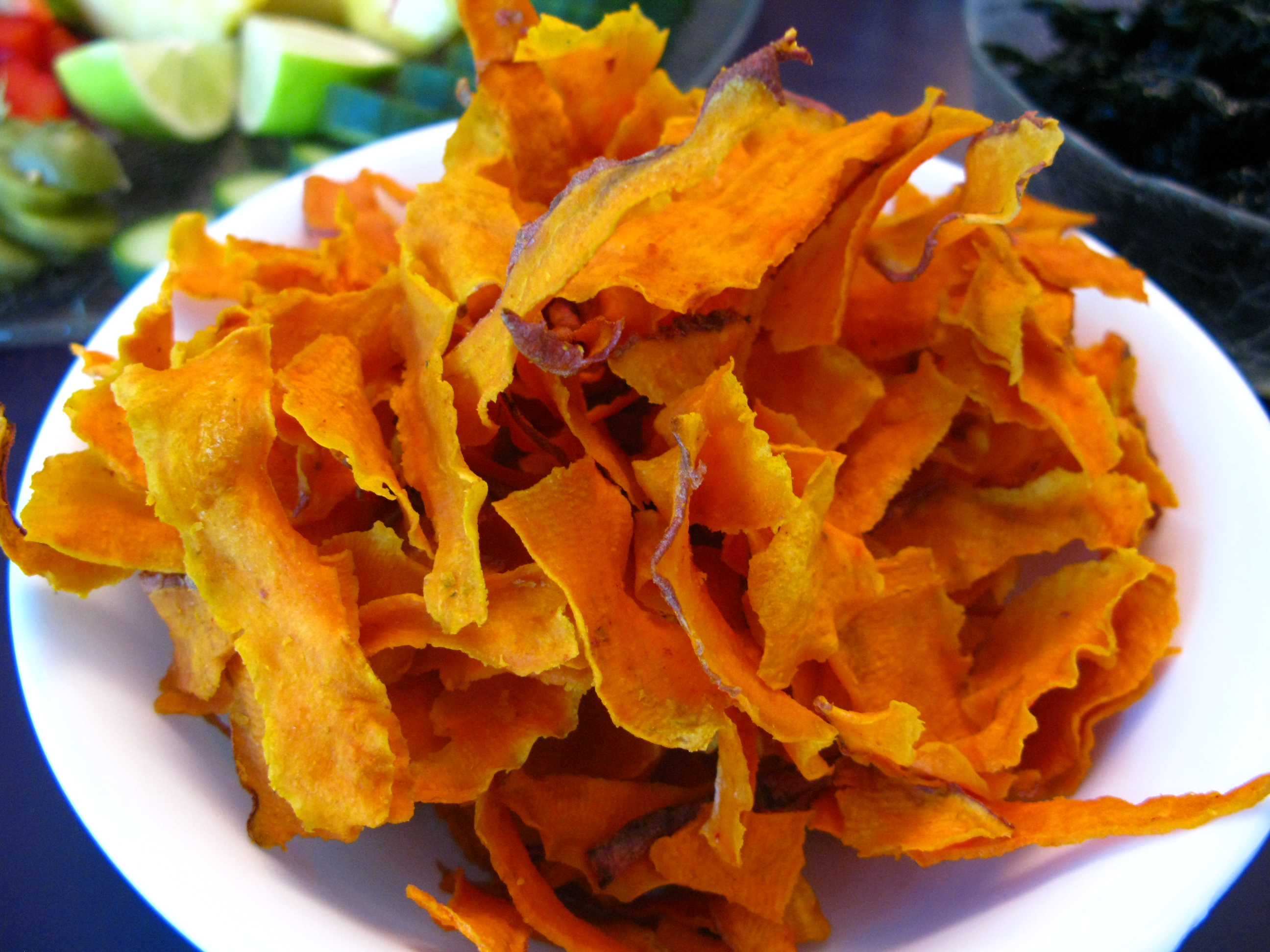 Golden Kumara Chips « The Kitchen Dispensary