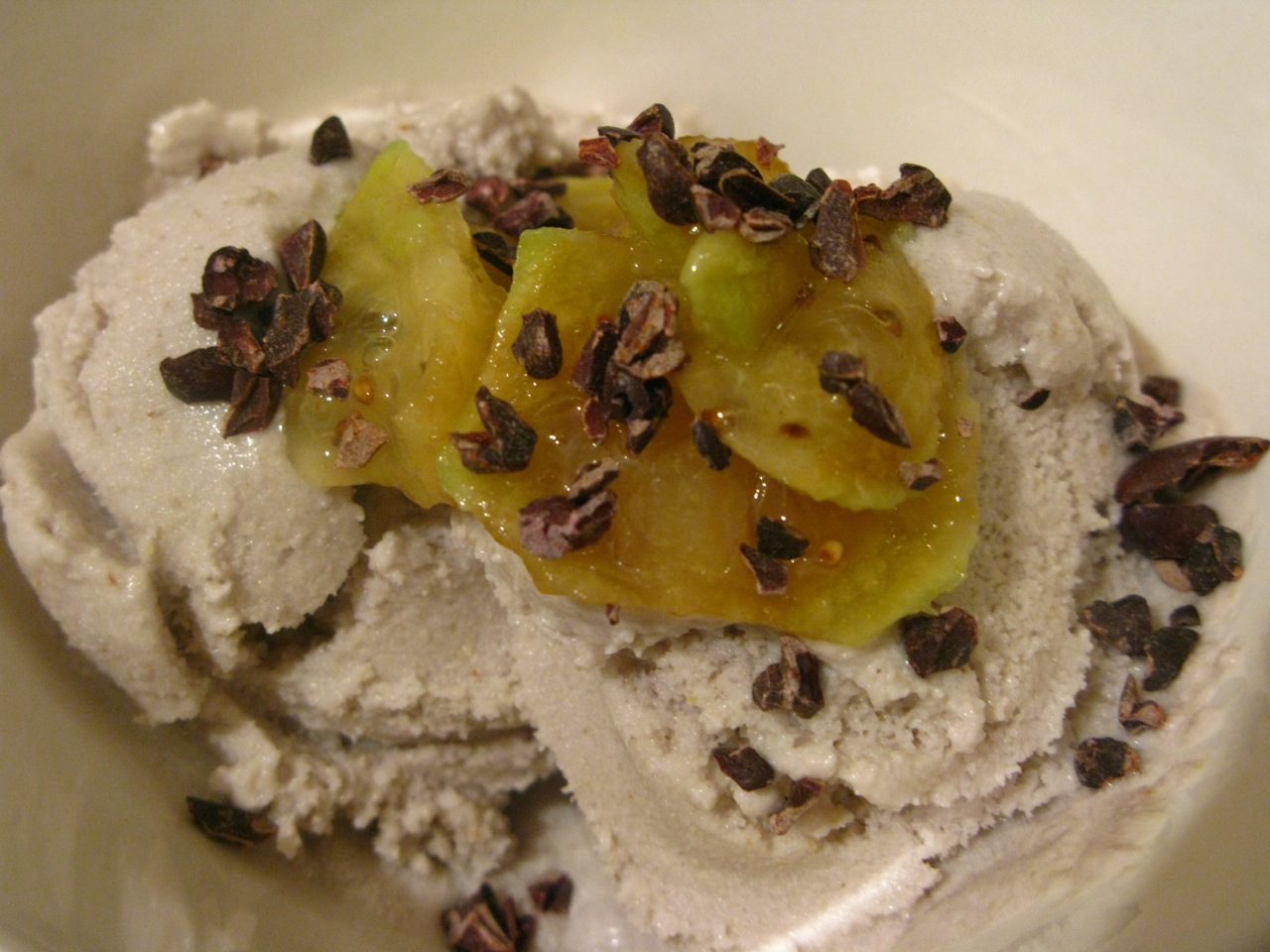 Feijoa & Manuka Honey Icecream